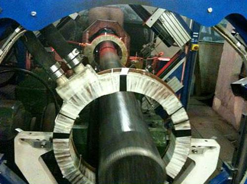 220 mm diameter testing